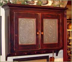 top 74 astounding tin cabinet door inserts insert ideas cabin remodeling kitchen doors with glass white kichen cabinets over lighting paint oak just s