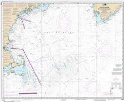 Gulf Of Maine Chart Chart Water Resistant Gulf Of Maine Georges