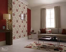 Wallpaper Living Room Designs This Beautiful Floral Is The Perfect Feature Wall Design Adding A