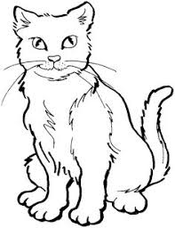 Small Picture Cat Coloring page Cat and kittens drinking milk coloring books