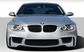 Coupe Series 07 bmw 328xi : 07-10 BMW 3 Series 1M Look Duraflex Front Body Kit Bumper ...