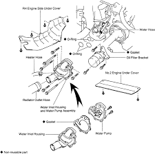 Toyota Previa - Remove Water Pump ~ Your Owner Manual