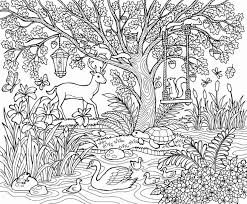We have tons of free printable spring coloring pages! Nature Coloring Pages Printable Sheets To Print For Adults Fishing Beach Hard Elephant Fall Autumn Golfrealestateonline