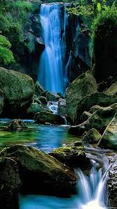 Mobile Waterfall Android Wallpapers ...