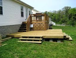 how to build a shed foundation on uneven ground how to build a deck on uneven