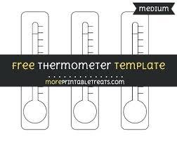Thermometer Template Impressive Money Raising Thermometer Template Tangledbeard