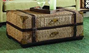 wicker coffee table with storage fresh coffee table lovable wicker trunk coffee table with marvelous