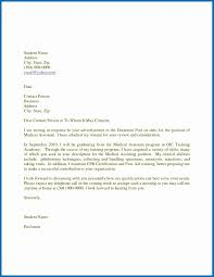 Cover Letter Medical Assistant Entry Level Cover Letter For Medical Assistant Free Sample Cover Letter Templates