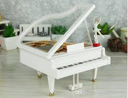 2019 <b>High Quality</b> Piano <b>Spinning Ballet</b> Music Box Sky City Music ...