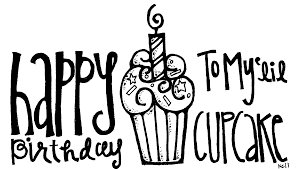 Happy Birthday Cake Banner Transparent Black And White Rr Collections