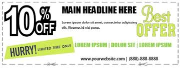 10 Off Coupon Template 10 Off Coupon Template Magdalene Project Org