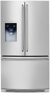 electrolux fridge. counter-depth french door refrigerator with wave-touch® controls ew23bc85ks electrolux appliances fridge e