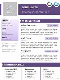 Resume Templates For Openoffice Beautiful Professional Website