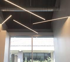 linear suspended lighting. Linear Suspended Lighting