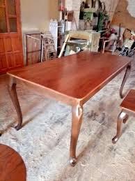 Großer Runder Teppich Neu Tisch Esszimmer Holz Parsvending