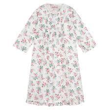 Baby Night Dress Design Girls Cotton Floral Nightdress