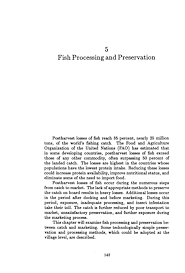 5 Fish Processing And Preservation Fisheries Technologies