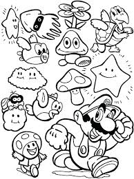 Super Mario Odyssey Coloring Pages Cappy