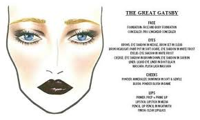 the great gatsby inspired makeup 951f530a0af440649ea88d0629bd240d