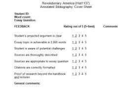 annotated bib examples of historiographical essays