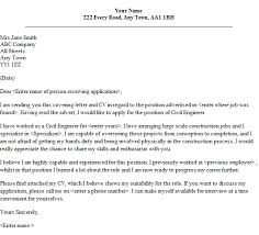 Bunch Ideas Of Civil Engineering Resume Cover Letter Building
