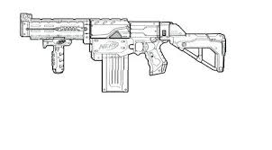 Nerf Coloring Pages Gun Coloring Page To Print Coloring Pages