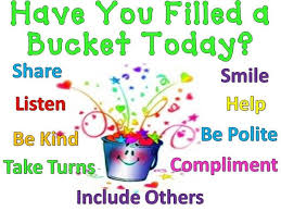 Have You Filled A Bucket Today | Buckets, Autism helper and Learning
