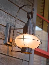 rustic outdoor lighting with regard to porch aspen light decor 8