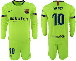 Long Barcelona Soccer Sleeves Messi Jersey Away 10 Club Cheap dcfbadbcdab|Patriots Vs Jets Game Preview