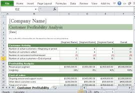 Profit Spreadsheets How To Easily Perform A Customer Profitability Analysis In Excel