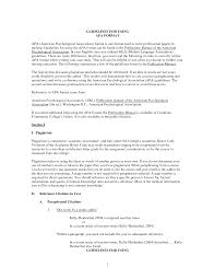 Essay Apa Format Examples Research Paper Reference Page Apa Apd Experts Manpower Service