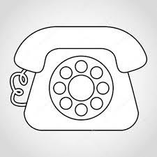 Old Telephone Design Old Telephone Design Stock Vector Yupiramos 69364619