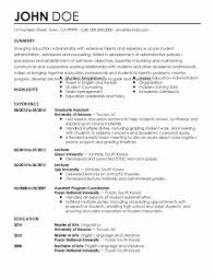 Bullet Point Resume Templates Free Best Sample Educational Resume
