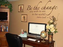 wall art for home office. Office:Inspirational Home Office Wall Art Decorating Ideas With White  Wooden Desk Also Wire Wall Art For Home Office S