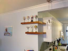 accessories terrific kitchen floating corner wall shelves making