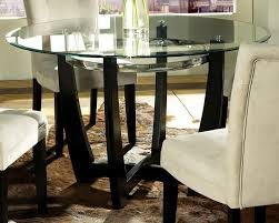 popular 60 inch round dining table furniture in glass top decorations 13