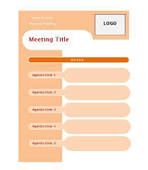 sample agendas for staff meetings 46 effective meeting agenda templates template lab
