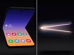 Samsung shows off <b>new design</b> for square-<b>folding</b> phone ...