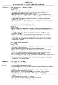 Java Applications Developer Resume Samples Velvet Jobs