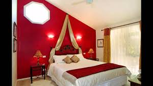 Red Color Bedroom Interior Design