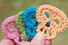 Skull Crochet Pattern Mesmerizing Sugar Skull Crochet Applique Pattern 48