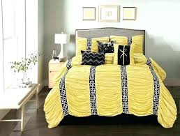 yellow bedspreads