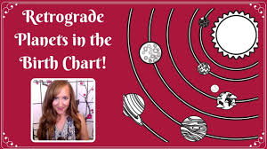 Retrograde Planets In The Birth Chart With Heather