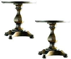 pedestal table base unfinished wood pedestal table base pedestal table base unfinished round dining table pedestal