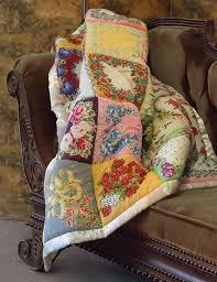 Handkerchief Puff Quilt Throw | Vintage Hankie Quilt & Alternate Image #0 ... Adamdwight.com
