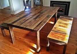 Pallet Kitchen Table Design Ideas