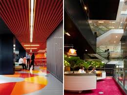 colorful office space interior design. Colorful Office Space Interior Design. Cozy Anz Business Center Designs With Ultra Modern Planner . Design S