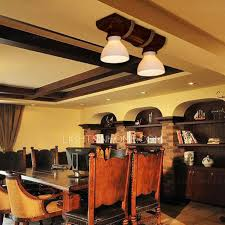 unusual ceiling lighting. unusual 2light glass shade wood ceiling lights lighting