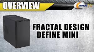 Fractal Design Define R4 Newegg Fractal Design Define Mini Black Silent Matx Mini Tower Computer Case