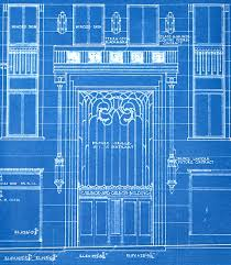 chrysler building blueprint. architech gallery chicagou0027s carbide and carbon building the lost blueprints chrysler blueprint